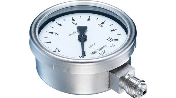 Köp Pressure Gauge, 0...10 bar, G1/4