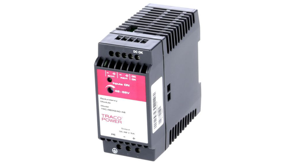 Köp Redundancy Module TPC Series Industrial Power Supplies 90 mm DIN Rail Mount